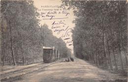 62-LE TOUQUET-PARIS-PLAGE- LE TRAMWAY DANS LA FORÊT - Le Touquet