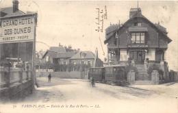 62-LE TOUQUET-PARIS-PLAGE- ENTREE DE LA RUE DE PARIS - Le Touquet