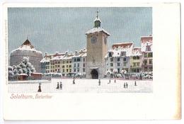 SOLOTHURN: Bielertor Im Winter ~1900 - SO Soleure