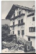 SCHARANS: Altes Bündnerhaus Mit Bewohnern ~1910 - GR Grisons