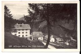 ALL'ACQUA (Valle Bedretto): Teilansicht ~1925 - TI Tessin