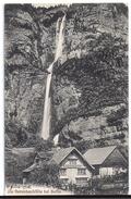 BETLIS: Wirtschaft Zum Wasserfall ~1910 - SG St. Gall