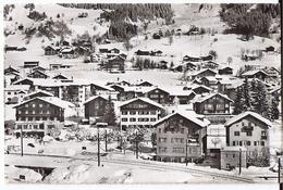 KLOSTERS: Bahnlinie Mit Hotel Alpina Und Malerwerkstätte ..ensli 1957 - GR Grisons