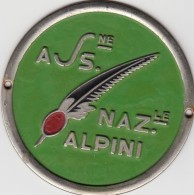 ASSOCIAZIONE NAZIONALE ALPINI-DISTINTIVO-GRANDE -VEDI DESCRIZIONE -2 SCAN- - Hueste