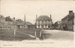 SAINT-GERMER  -  La  Place - France