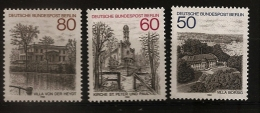 Allemagne Berlin 1982 N° 646 / 8 ** Monuments, Villa Borsig, Eglise, Saint-Pierre, Von Des Heydt, Lac, Voiliers Nautisme - [5] Berlin