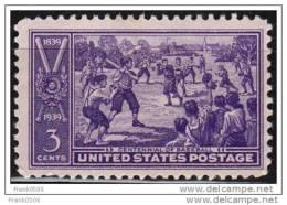 USA 1939, Sand-lot Baseball, MNH - United States