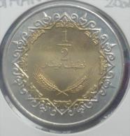LIBYA 1/2 DINAR 2004 PICK KM27 UNC - Libye