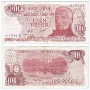 Argentina 100 Pesos 1976-78 Pick 302.a Ref 99-3 - Argentina