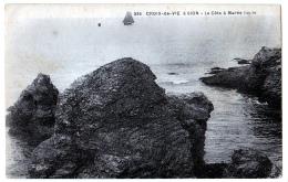 Saint-Gilles Croix-de-Vie (Vendée) La Côte, à Marée Haute - Saint Gilles Croix De Vie