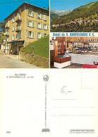 Saluti Da S. Bartolomeo Val Cavargna - Bar Pozzi 3 PANORAMI (A-L 431) - Como