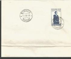 RIF44---  ITALIA REPUBBLICA,  ANNULLI FILATELICI,   FDC.   1958, - 1946-.. République