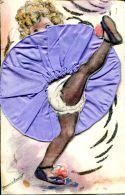 N°1 H -cpa Illustrateur Germaine Bouret -découpis-collage- - Bouret, Germaine