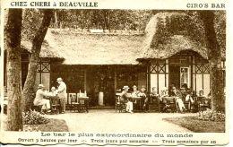 N°6 H -cpa Chez Chéri à Deauville -le Bar Le Plus Extraordinaire Du Monde- - Cafés