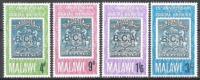Malawi 1966 Postgeschichte Postdienst Kommunikation Wappen Südafrika-Gesellschaft Philatelie Philately, Mi. 52-5 ** - Malawi (1964-...)