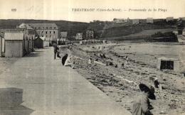 A 506 - Trestraou (22) Promenade De La Plage - France