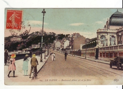 Cpa Le Havre  Boulevard Albert 1 - Le Havre