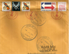 Lettre Postée A L´ile De Pago-Pago (Samoa Americaine), Adressée Au Mexique. - American Samoa