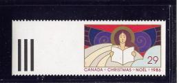 CANADA 1986, #1116, CHRISTMAS ANGELS  M NH Anges De Noel - Carnets