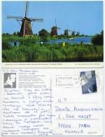 Netherlands - Kinderdijk - Poldermolens - Windmühlen