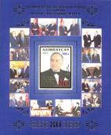 Azerbaïjan 2003 Mih. 549 (Bl.56) President Heydar Aliyev. Putin. Bush. Pope John Paul II. Nazarbayev MNH ** - Aserbaidschan