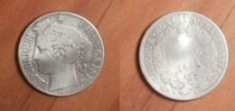 Cérès - 1 Franc 1872 A - France