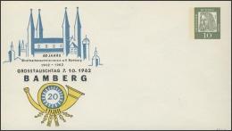 Umschlag 10 Pf Dürer Bamberg / Druck Erhaben ** - [7] Federal Republic