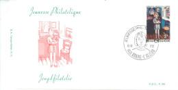 BELGIUM - FDC - 9.9.1972 - JEUNESSE PHILATELIQUE JEUGDFILATELIE - COB 1638 P. 37 - Lot 14551 - 1971-80