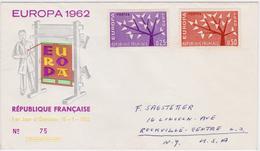 France 1962, EUROPA - CEPT Cover #75 - Europa-CEPT
