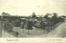 67 CPA Haguenau Vue Du Quartier Nord 1910 - Haguenau