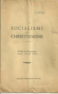 DEPLIANT SOCIALISME ET CHRISTIANISME SUPPLEMENT ESPOIR DU MONDE AOUT 1930PHILIP RELIGION POLITIQUE - Religion & Esotérisme