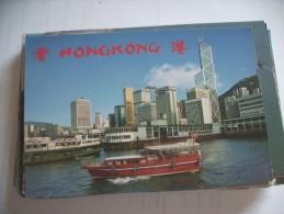 Hongkong Ship And Buildings - China (Hongkong)