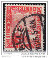 Germany 1925, Eagle Watching Rhine Valley, 10pf, Used - Germany