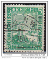 Germany 1925, Eagle Watching Rhine Valley, 5pf,  Used - Germany