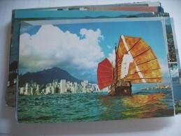 Hong Kong City And Ship - China (Hongkong)