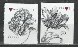 USA. Scott # 4959-60 MNH. Wedding Rose And Tulip 2015 - Nuevos