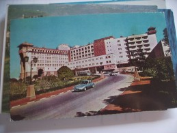 India Ashoka Hotel And Old Car - India