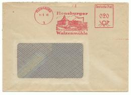 EMA 1949 - Moulin Industriel De Flensburg - Farine, Grain - Agriculture