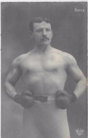 BAYLE - Boxeur - CARTE PHOTO - Boxing