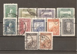 Turquía - Turkey - Yvert  750, 752, 754-55, 759-64, 766 (usado) (o) - 1921-... República