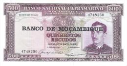 Mozambique - Pick 118 - 500 Escudos 1976 - Unc - Mozambico
