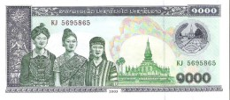 Laos - Pick 32A-b - 1000 Kip 2003 - Unc - Laos