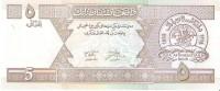 Afghanistan - Pick 66 - 5 Afghanis 2002 - Unc - Afghanistan