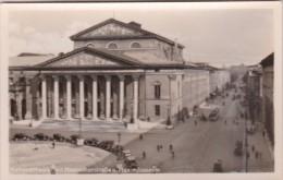 Germany Muenchen Nationaltheater mit Maximilianstrasse und Maxim