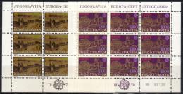 Yugoslavia,Europa CEPT 1979.,sheets,MNH - 1945-1992 Socialist Federal Republic Of Yugoslavia