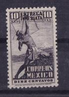 MEXICO (Sc # E-4) MNH (Set Of 1) Indian Archer  (1934) - Mexique