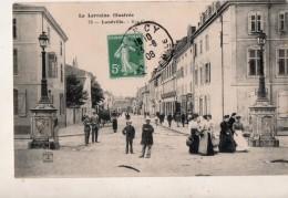 Lunéville La Rue Carnot - Luneville