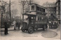 Les Autobus De Paris - Transport Urbain En Surface