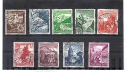 DEL1439  DEUTSCHES REICH 1938  MICHL  675/83  Used / Gestempelt Siehe ABBILDUNG - Deutschland