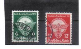 DEL1442  DEUTSCHES REICH 1939  MICHL  689/90  Used / Gestempelt Siehe ABBILDUNG - Deutschland
